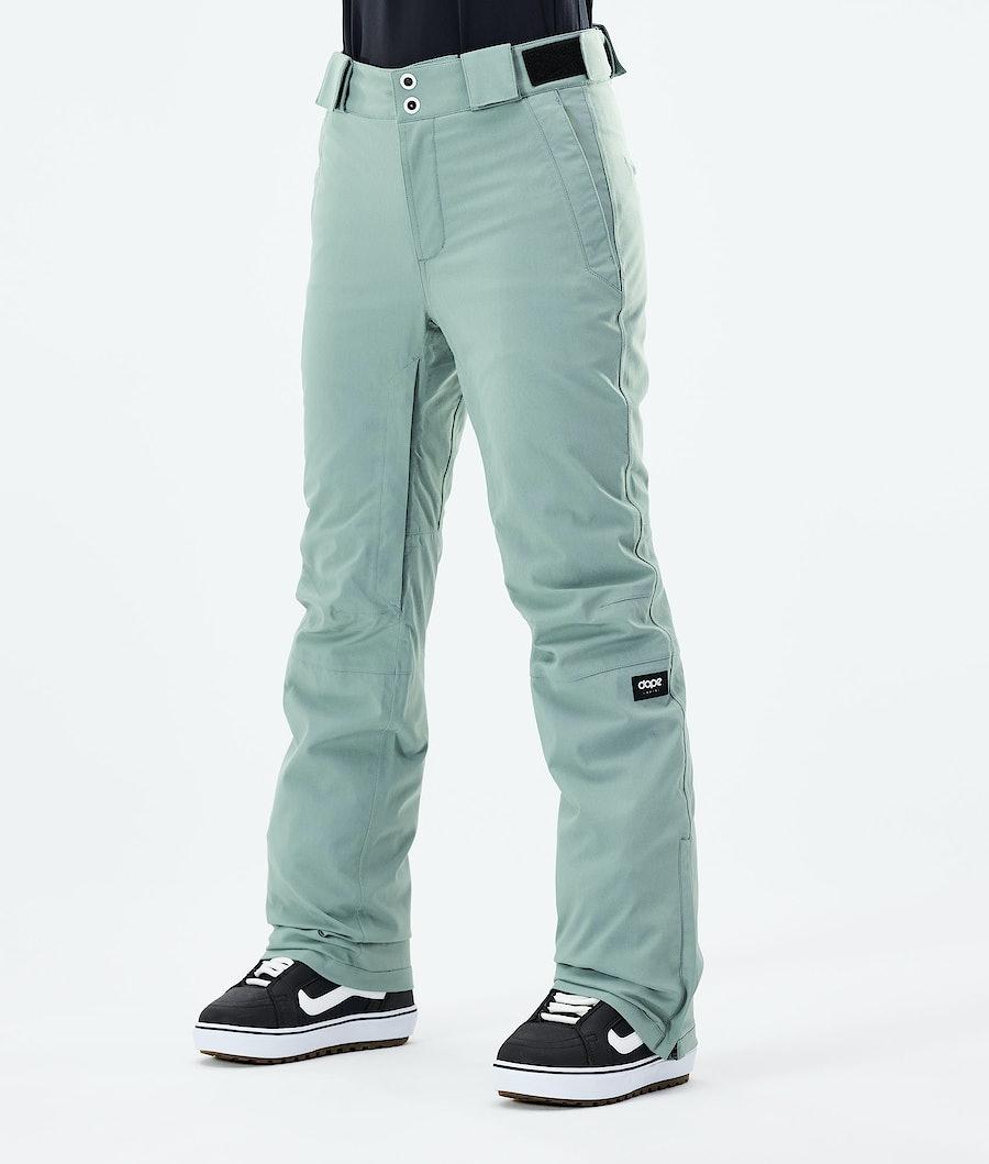 Dope Con W Pantaloni Snowboard Faded Green
