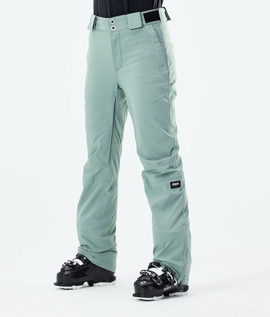 Dope Con W Ski Pants Faded Green