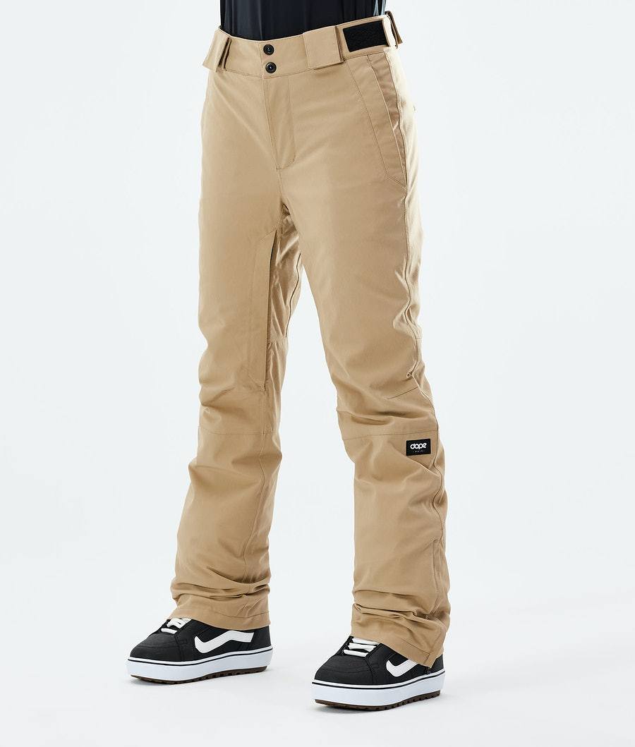 Con W Snowboard Pants Women Khaki