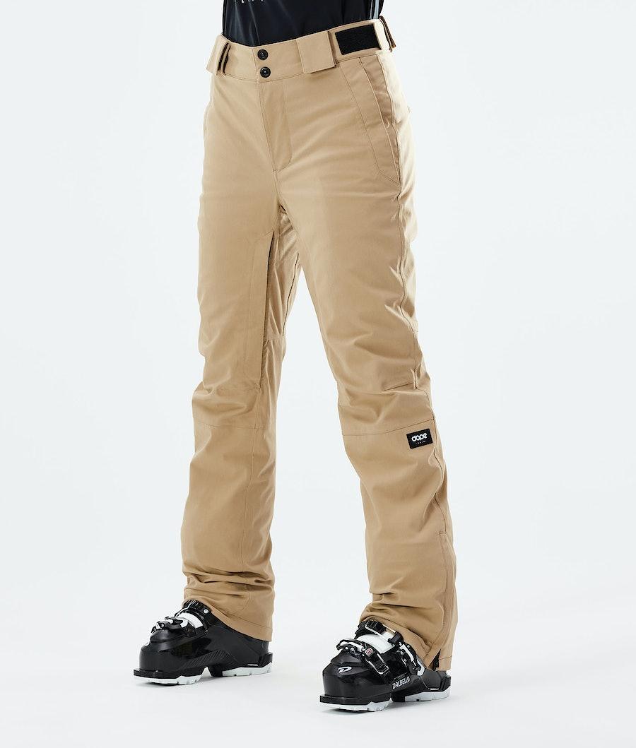 Con W Ski Pants Women Khaki