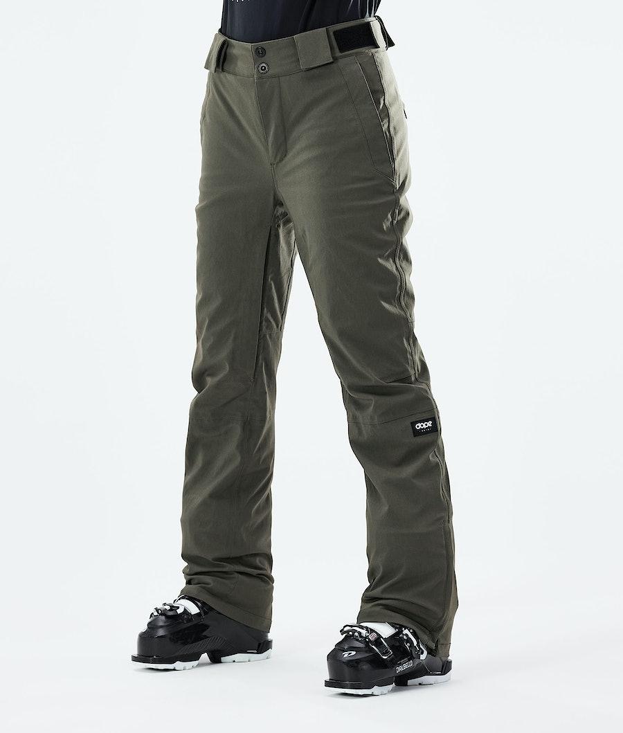 Con W Ski Pants Women Olive Green