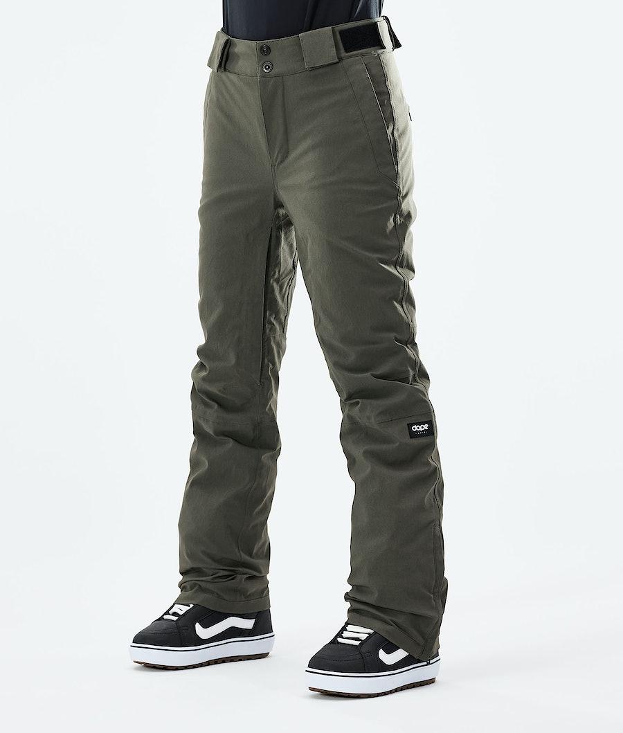 Dope Con W Pantaloni Snowboard Olive Green