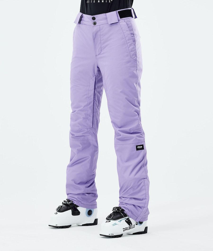Dope Con W Ski Pants Faded Violet