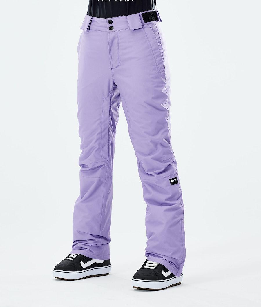 Dope Con W Pantaloni Snowboard Faded Violet