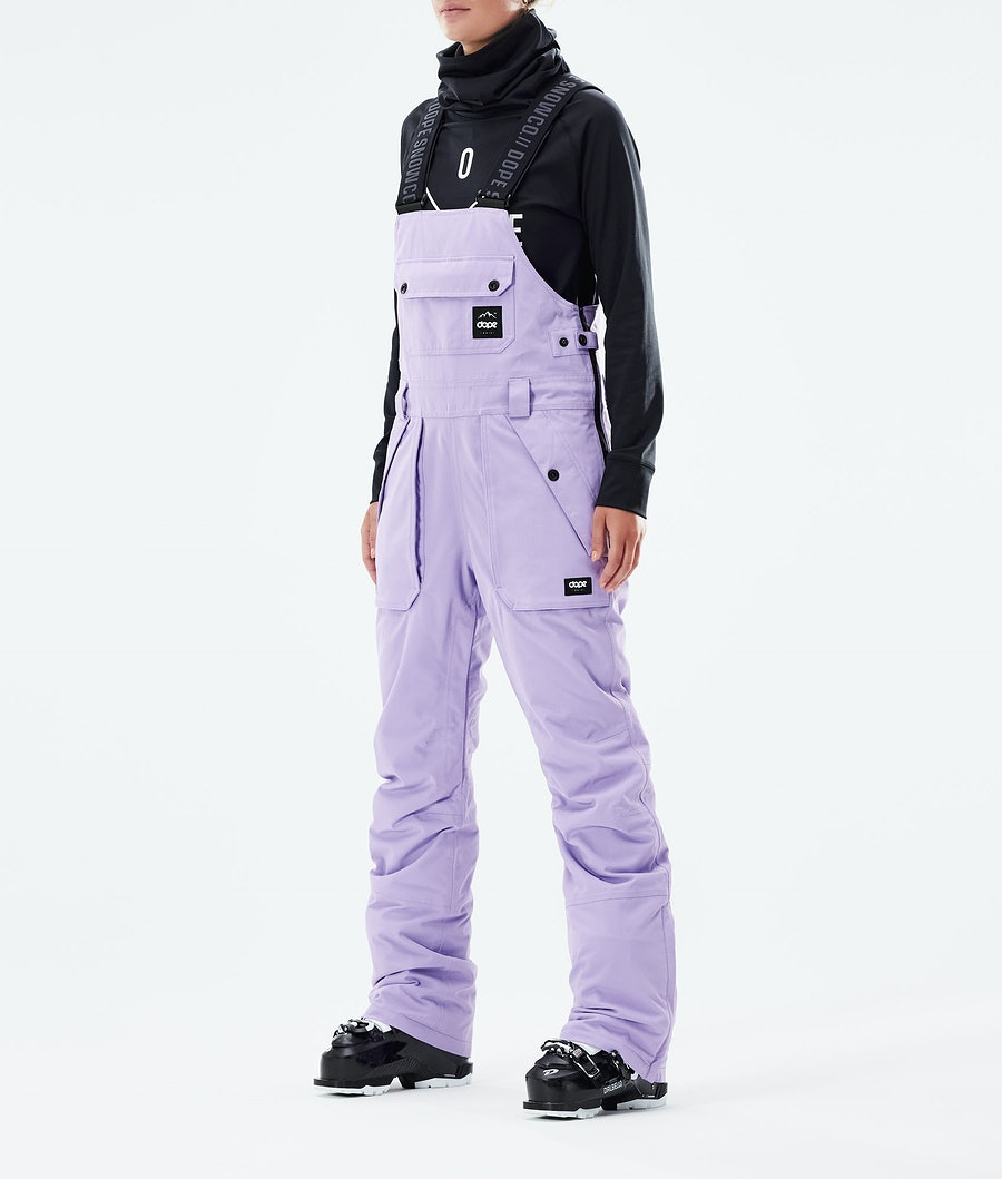 Notorious B.I.B W Ski Pants Women Faded Violet