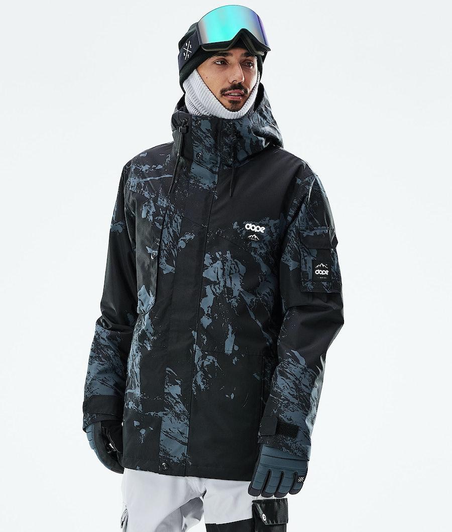Dope Adept Veste Snowboard Paint Metal Blue