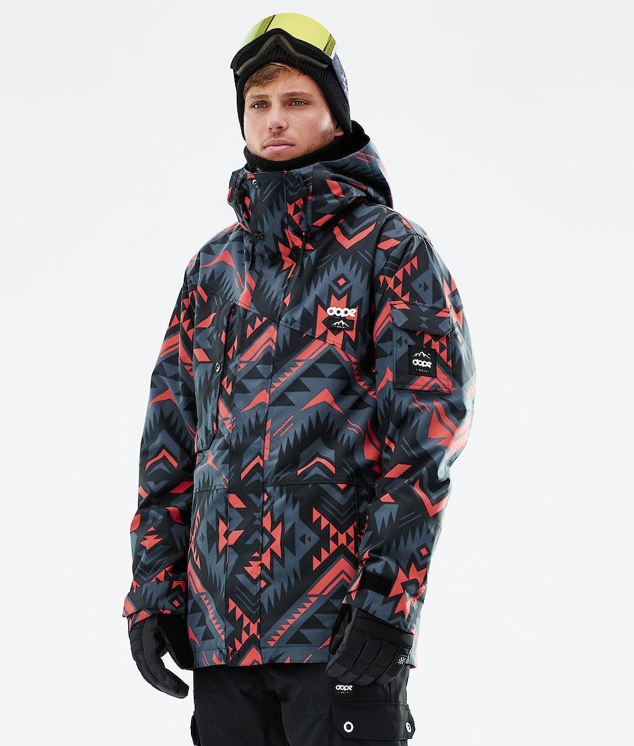 Adept Ski Jacket Men Cojiba Metal Blue
