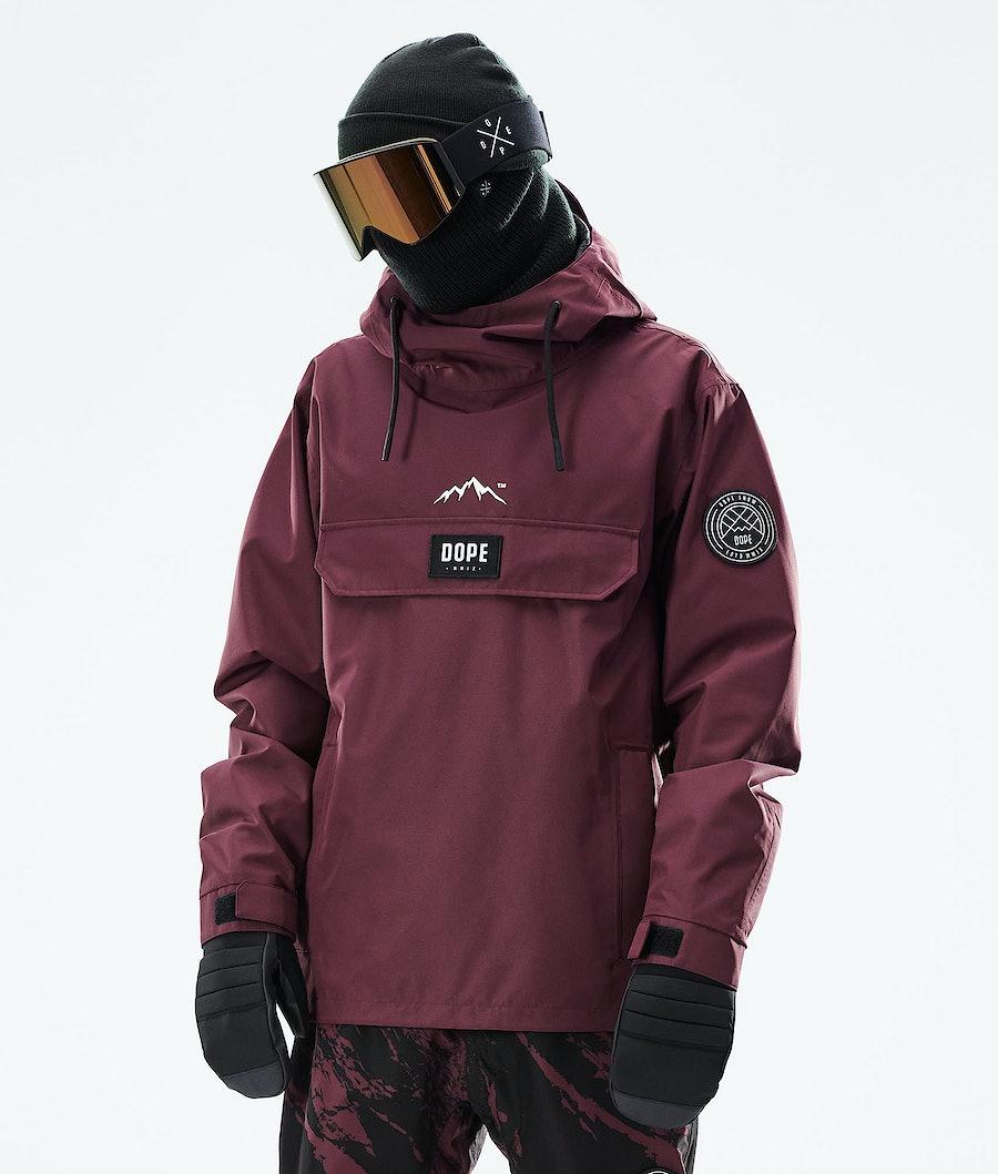 Dope Blizzard PO Snowboardjacka Burgundy