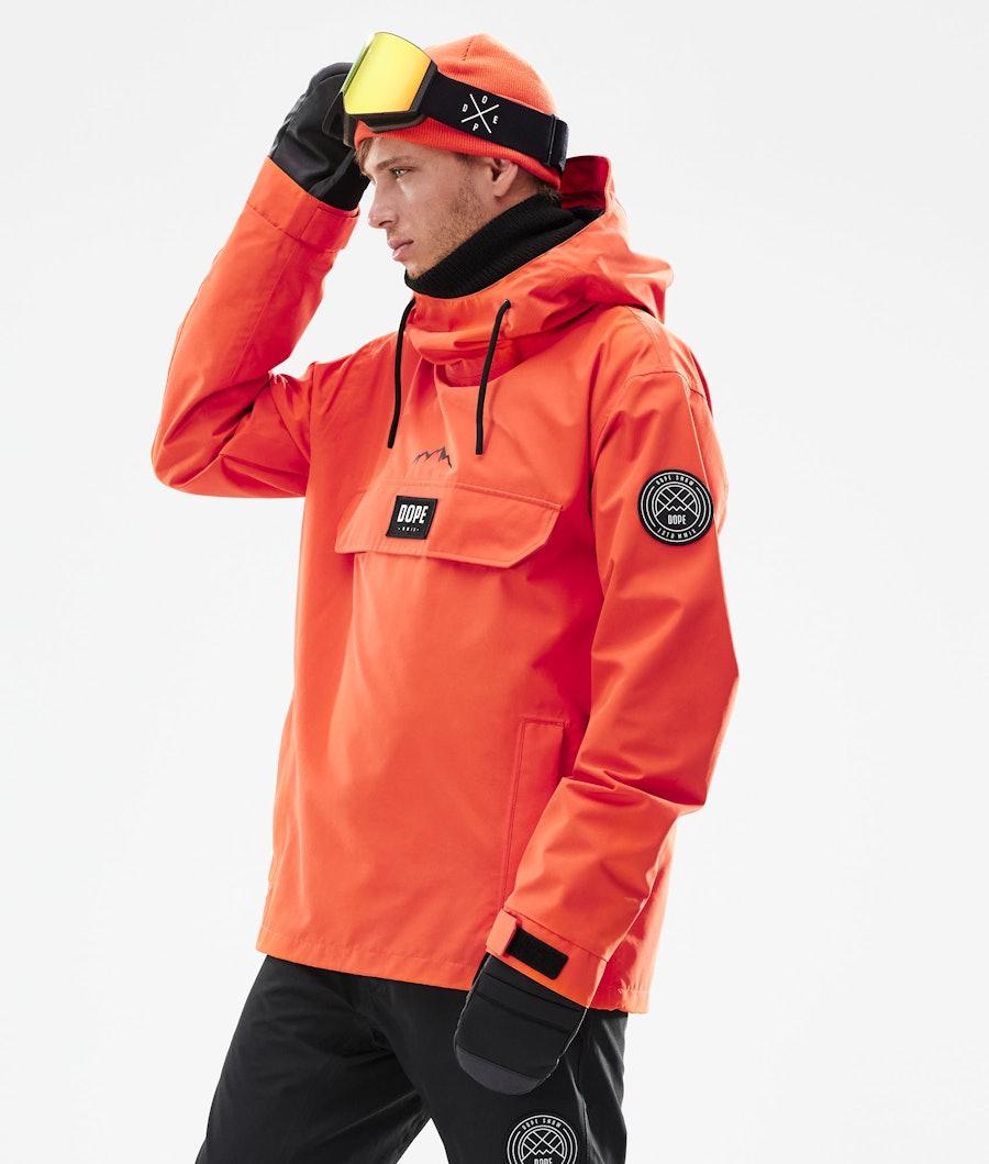 Dope Blizzard PO Skijacke Orange