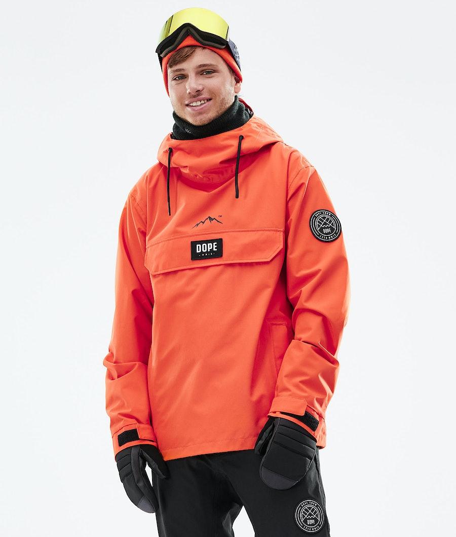 Dope Blizzard PO Snowboardjacka Orange