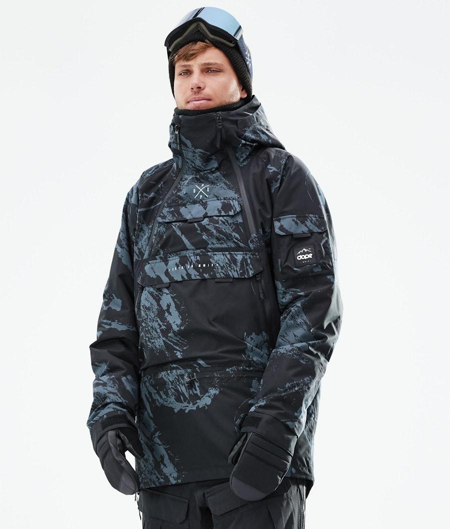 Dope Akin Veste Snowboard Paint Metal Blue