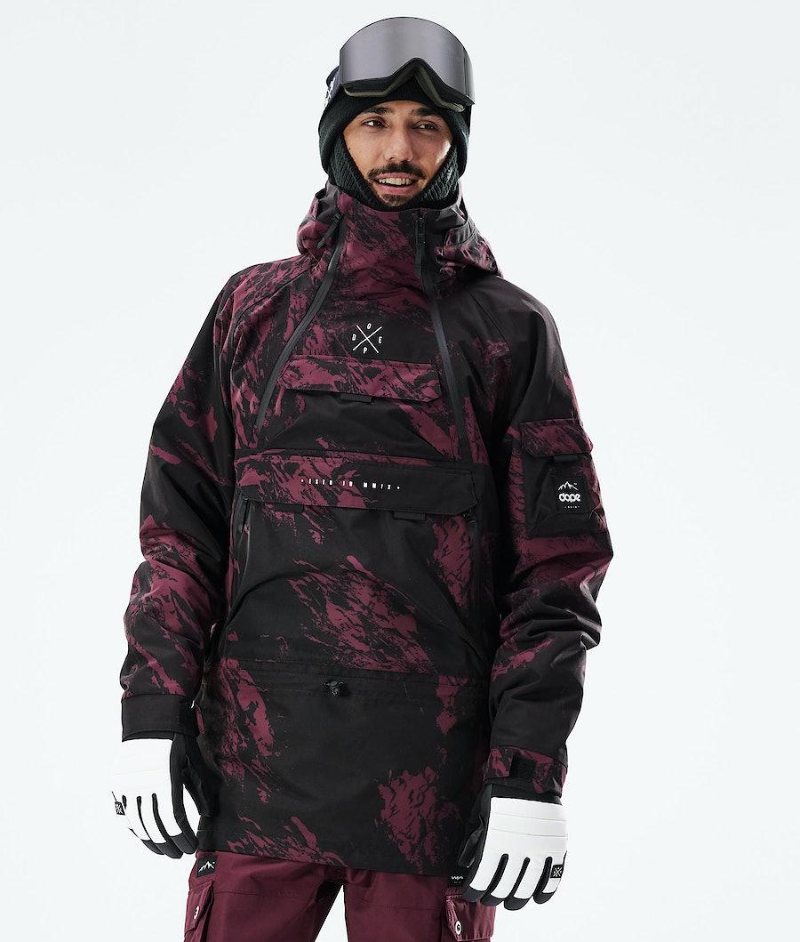 Dope Akin Veste Snowboard Paint Burgundy