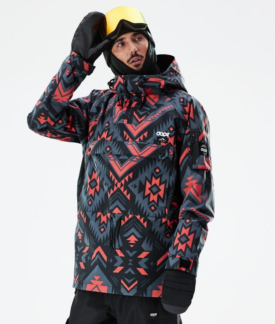 Annok Ski Jacket Men Cojiba Metal Blue