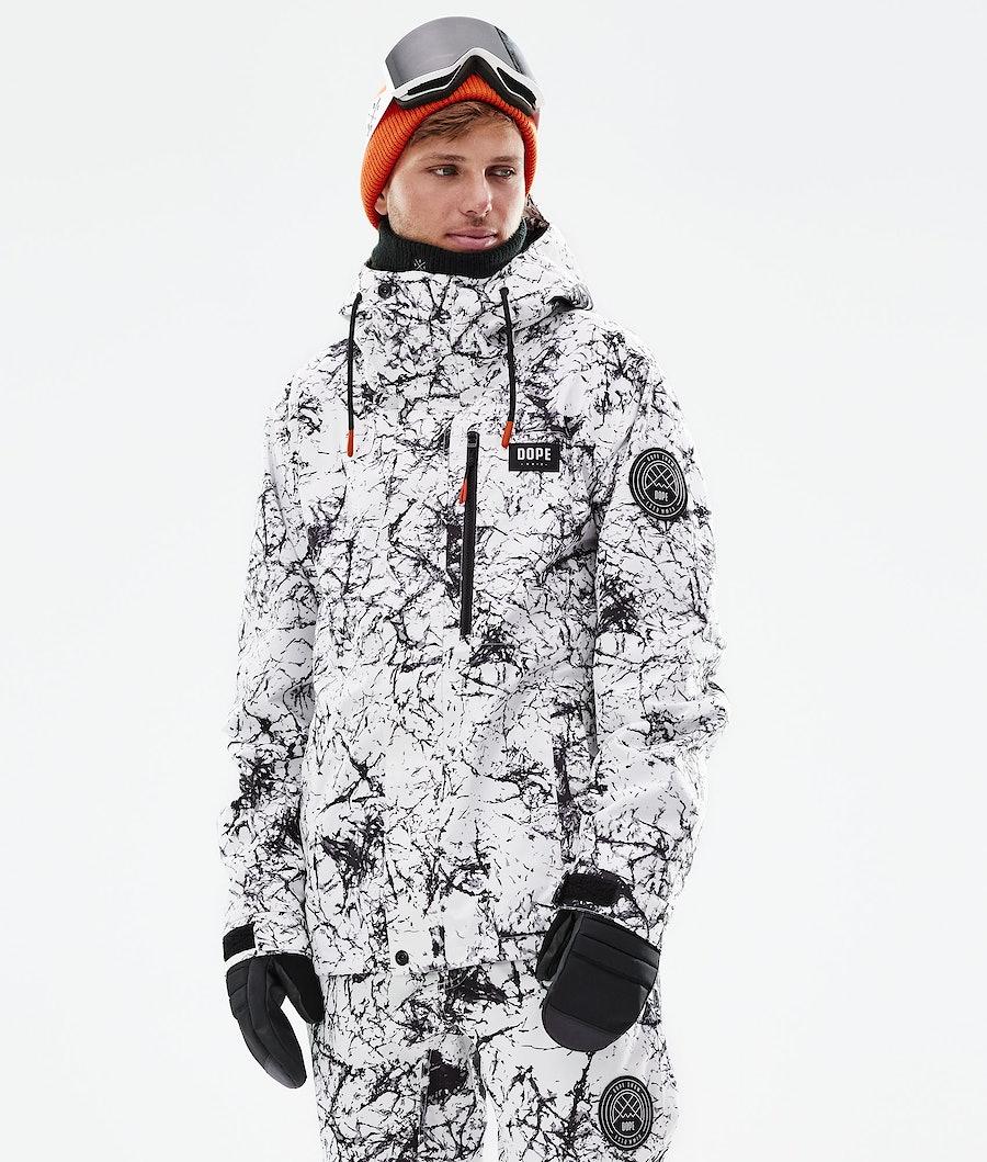 Dope Blizzard FZ Veste Snowboard Rock