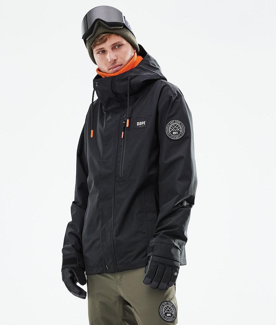 Dope Blizzard FZ Snowboardjacke Black