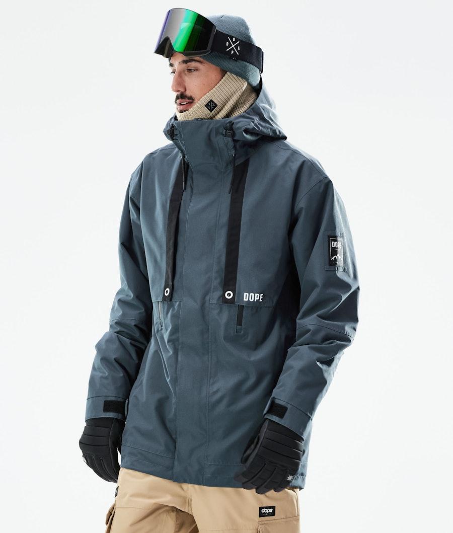 Dope Mojo Ski Jacket Metal Blue