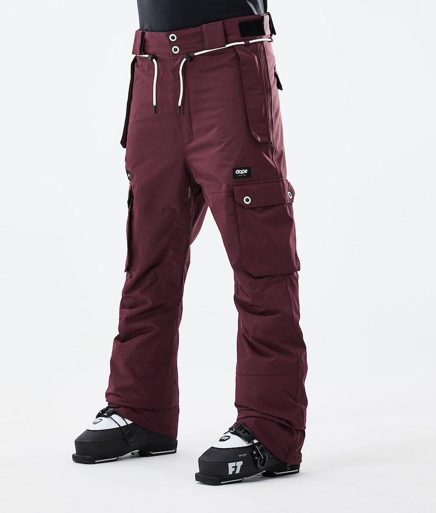 Dope Iconic Pantaloni Sci Burgundy
