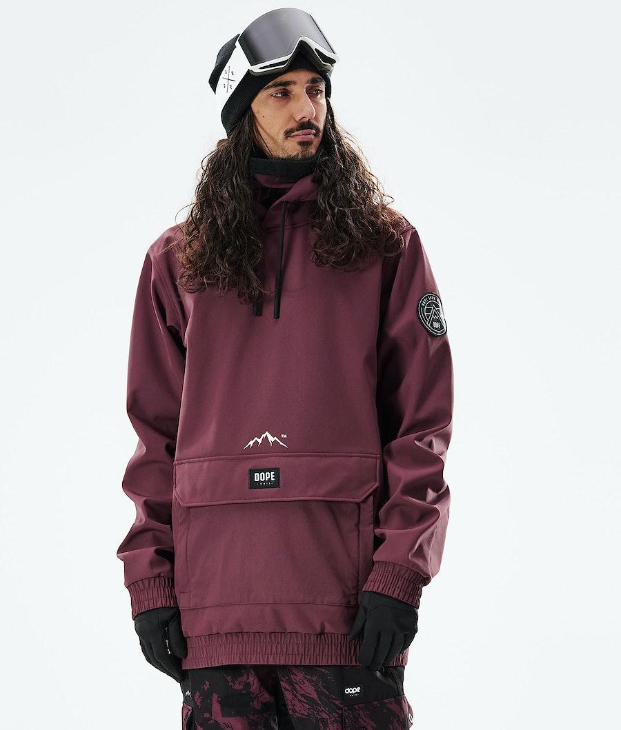 Wylie Snowboard Jacket Men Burgundy