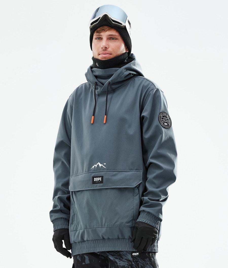Dope Wylie Snowboardjacka Metal Blue