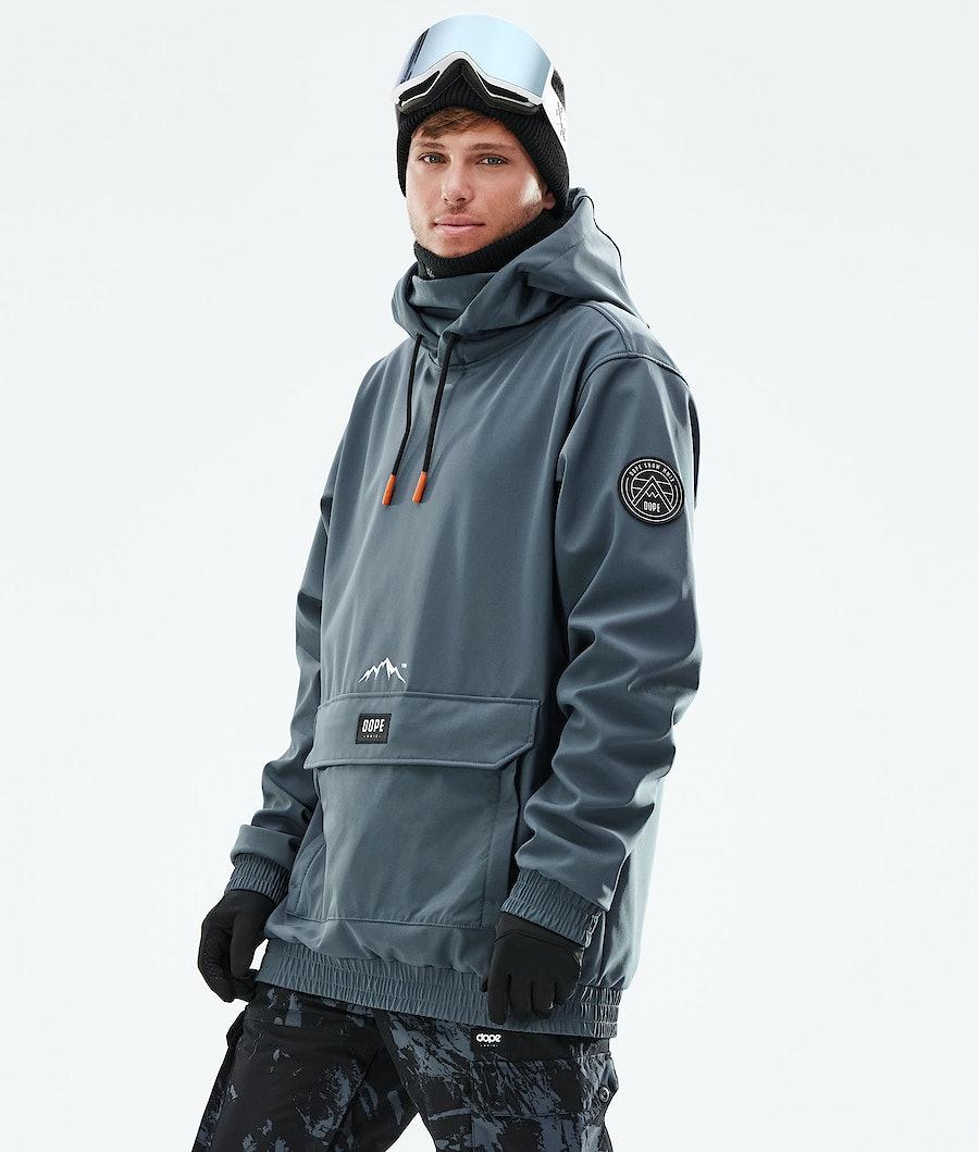 Wylie Ski Jacket Men Metal Blue