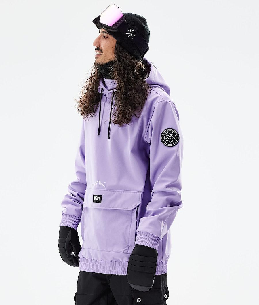 Dope Wylie Snowboardjacke Faded Violet