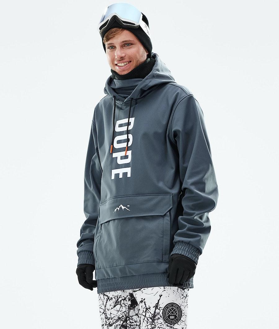 Dope Wylie Snowboardjacke Metal Blue