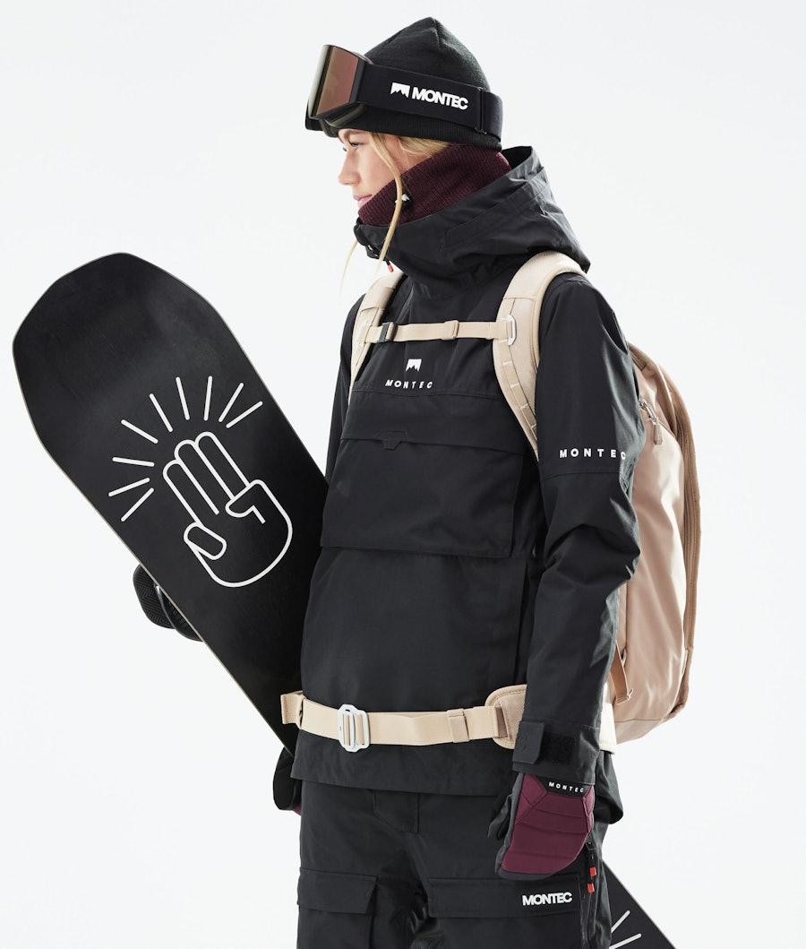 Montec Dune W Snowboardjacke Black