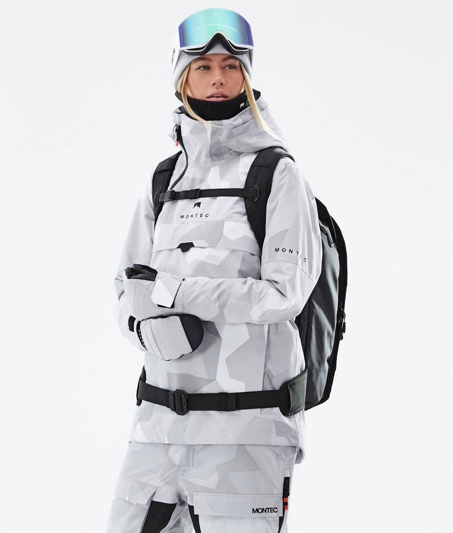 Montec Dune W Snowboardjacke Snow Camo