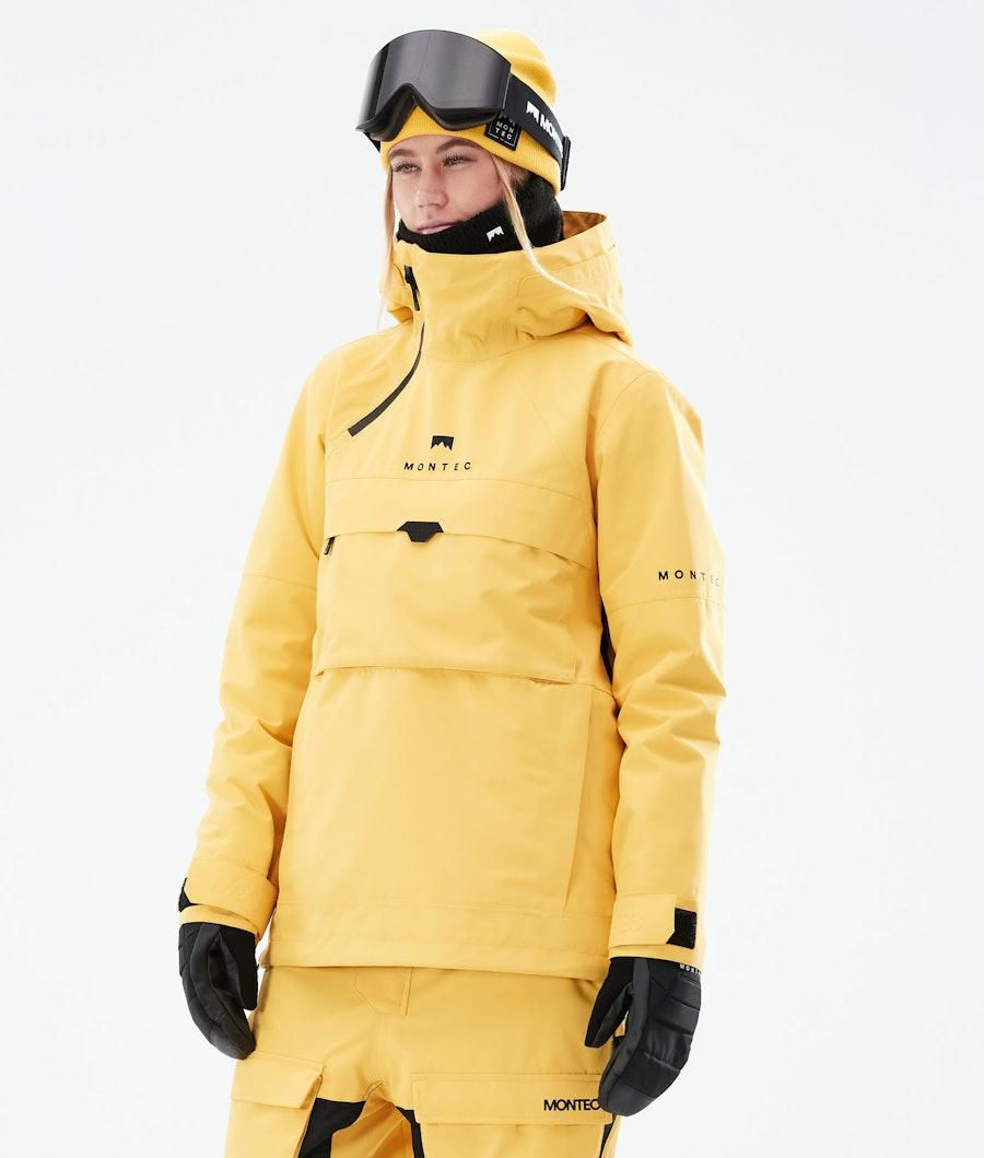 Montec Dune W Snowboardjacke Yellow