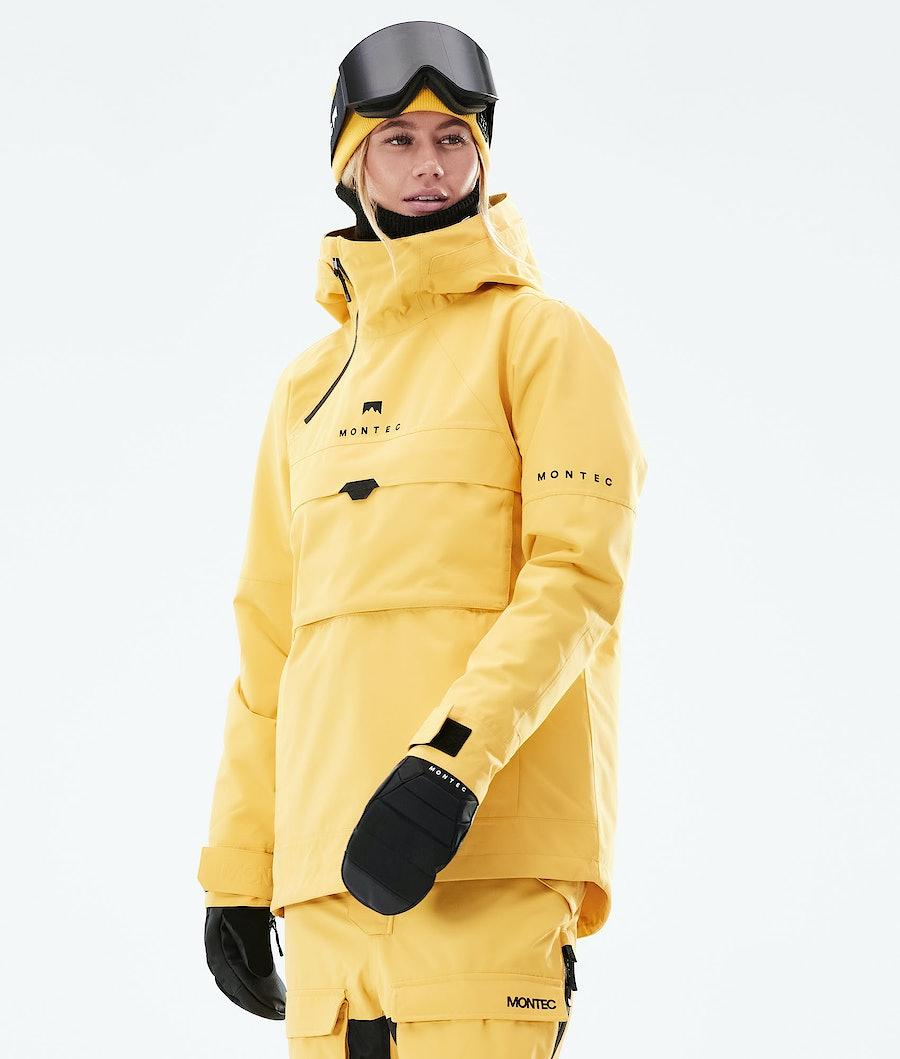 Montec Dune W Laskettelutakki Yellow