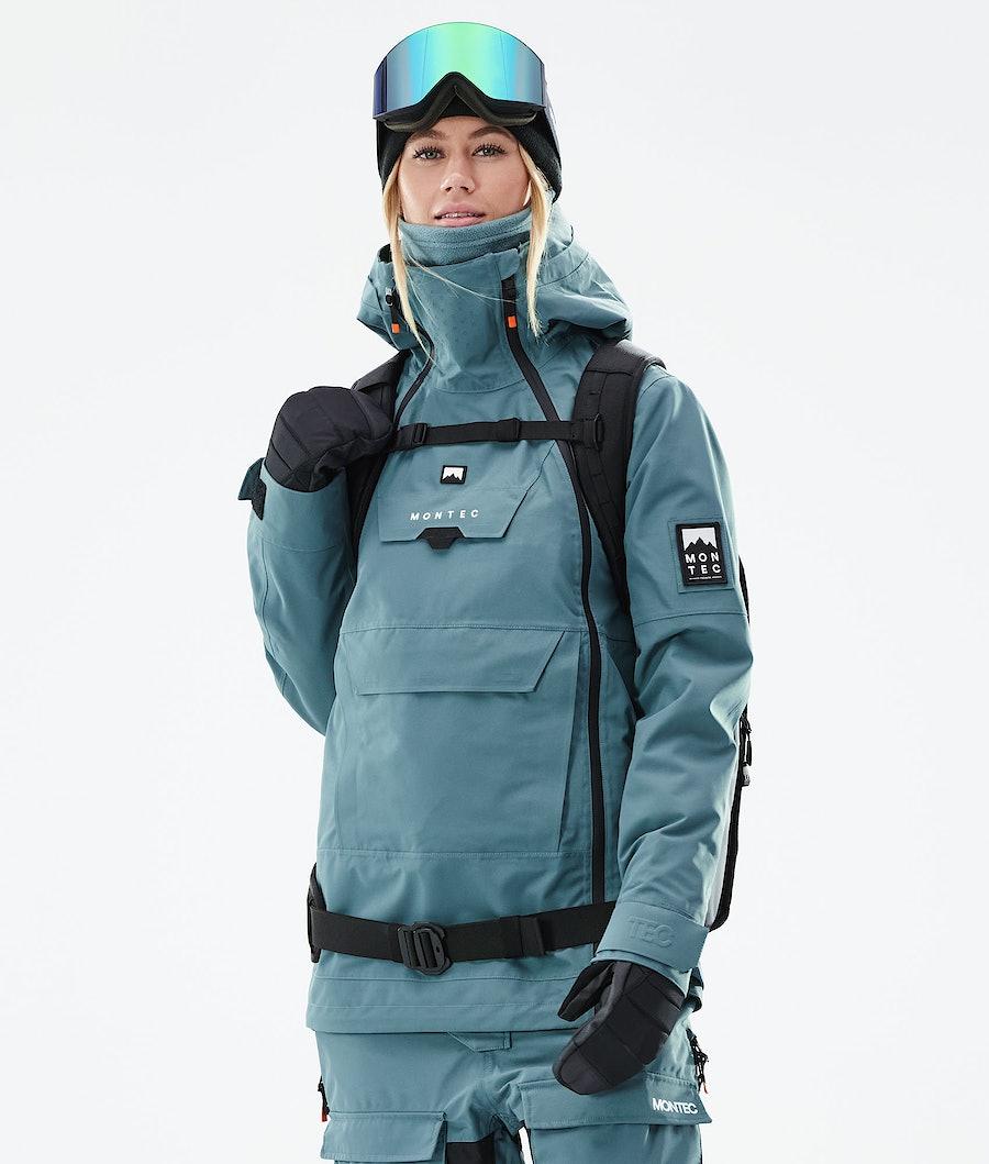 Montec Doom W Snowboard Jacket Atlantic