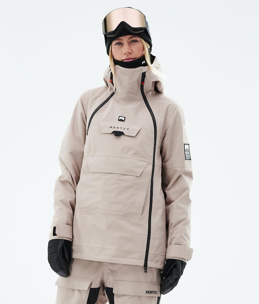 Doom W Ski Jacket Women Sand