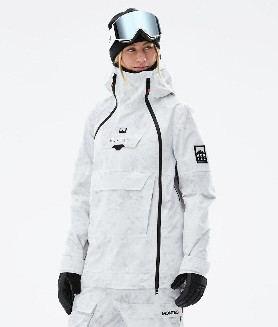 Montec Doom W Snowboard Jacket White Tiedye