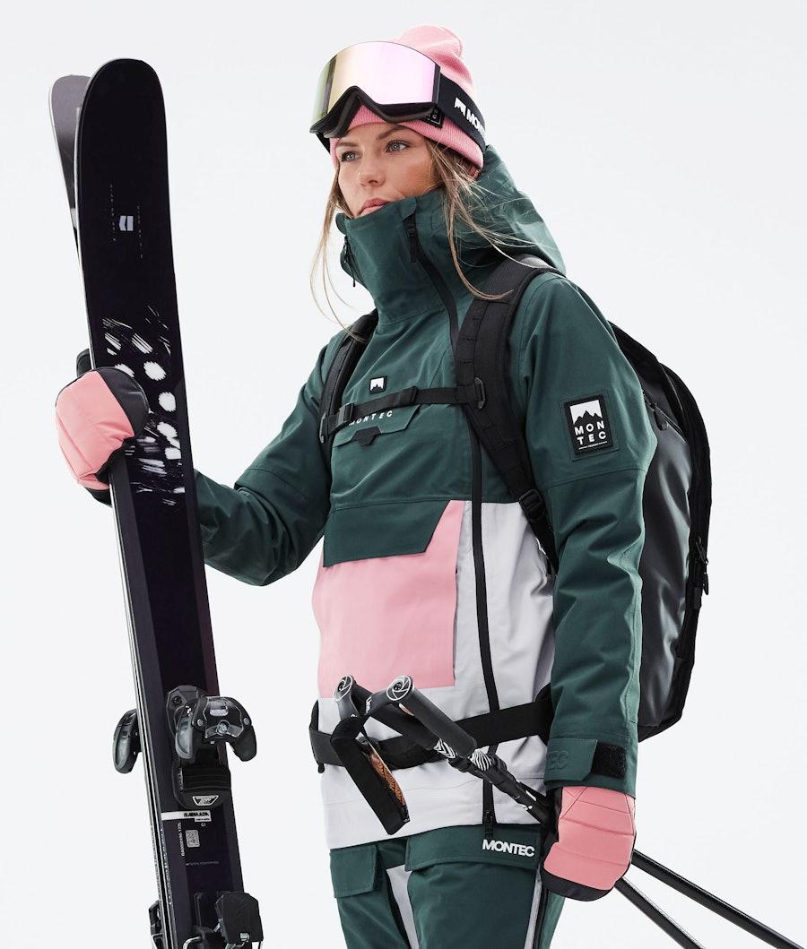 Montec Doom W Ski Jacket Dark Atlantic/Pink/Light Grey