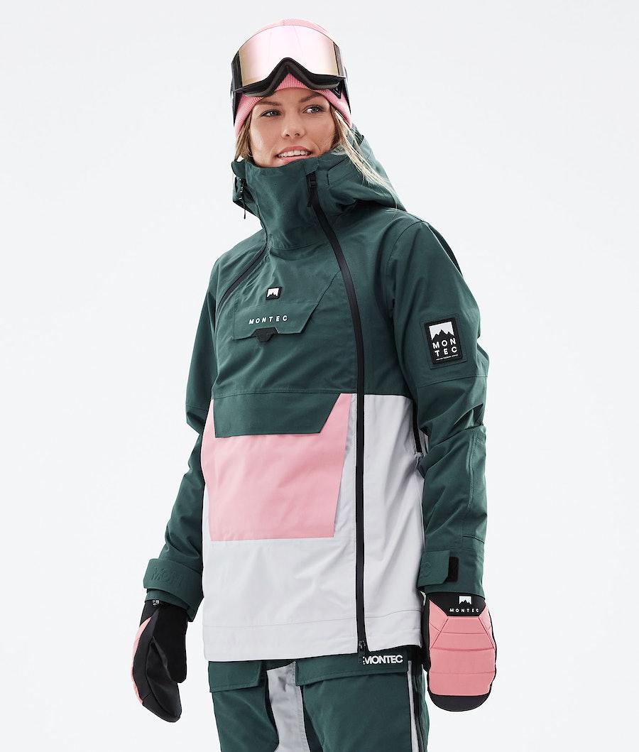 Montec Doom W Snowboard Jacket Dark Atlantic/Pink/Light Grey