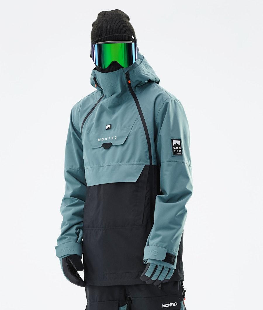 Montec Doom Snowboard Jacket Atlantic/Black
