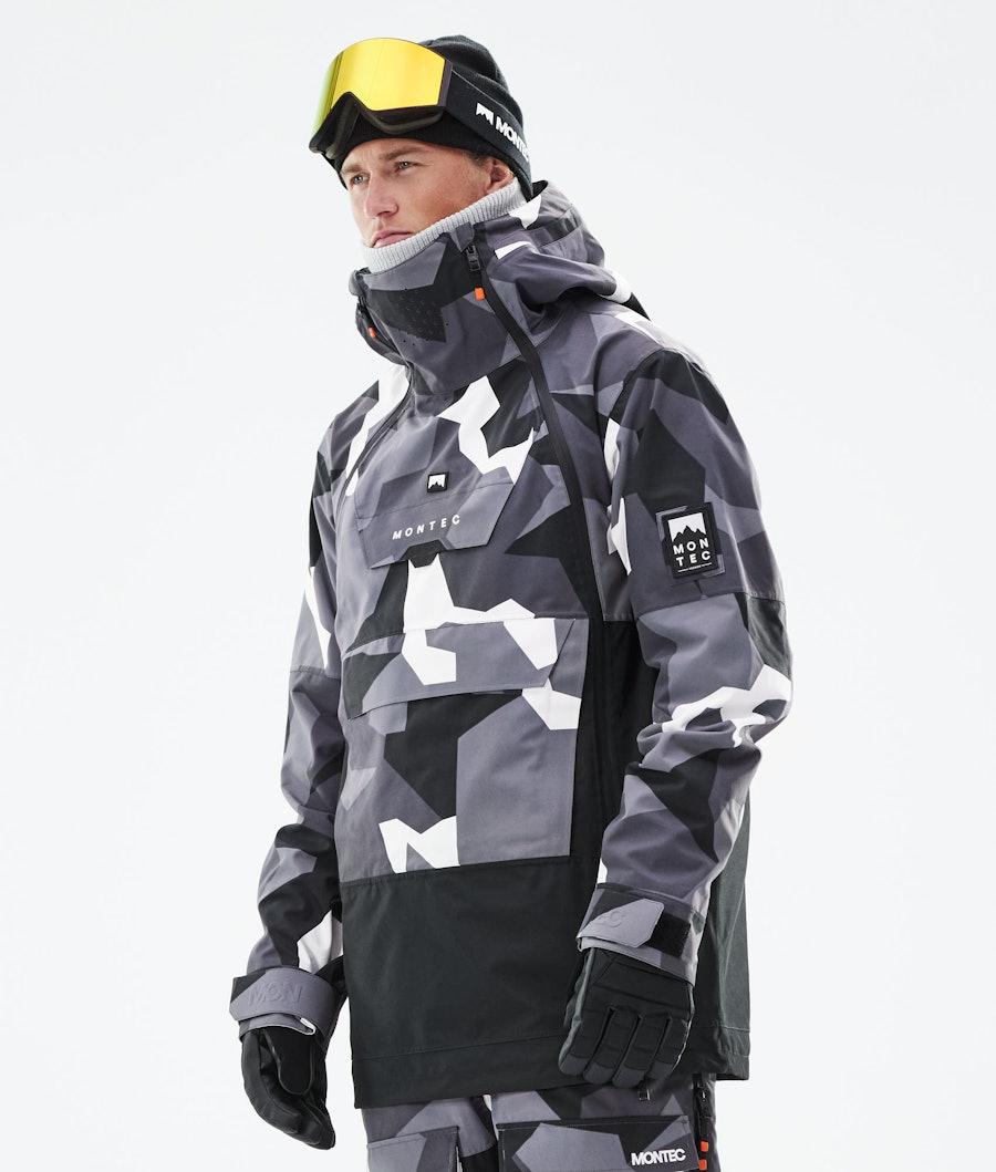 Montec Doom Skijacke Arctic Camo/Black