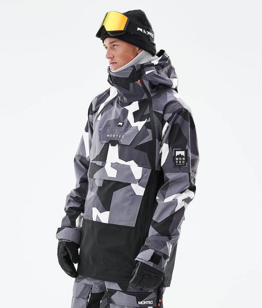 Montec Doom Giacca Snowboard Arctic Camo/Black
