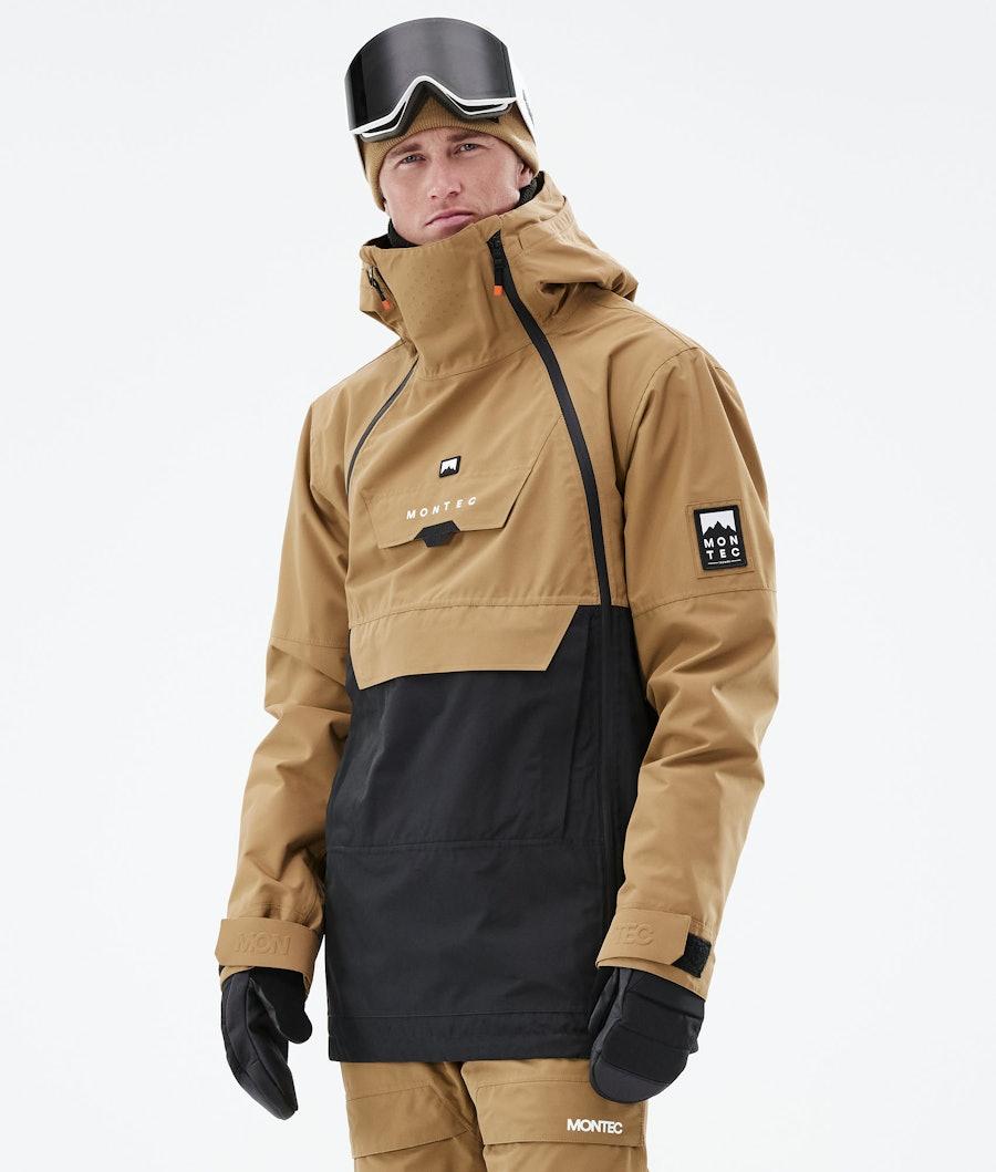 Montec Doom Snowboardjacka Gold/Black