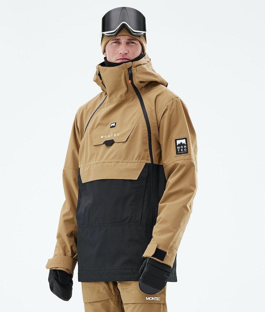 Doom Ski Jacket Men Gold/Black