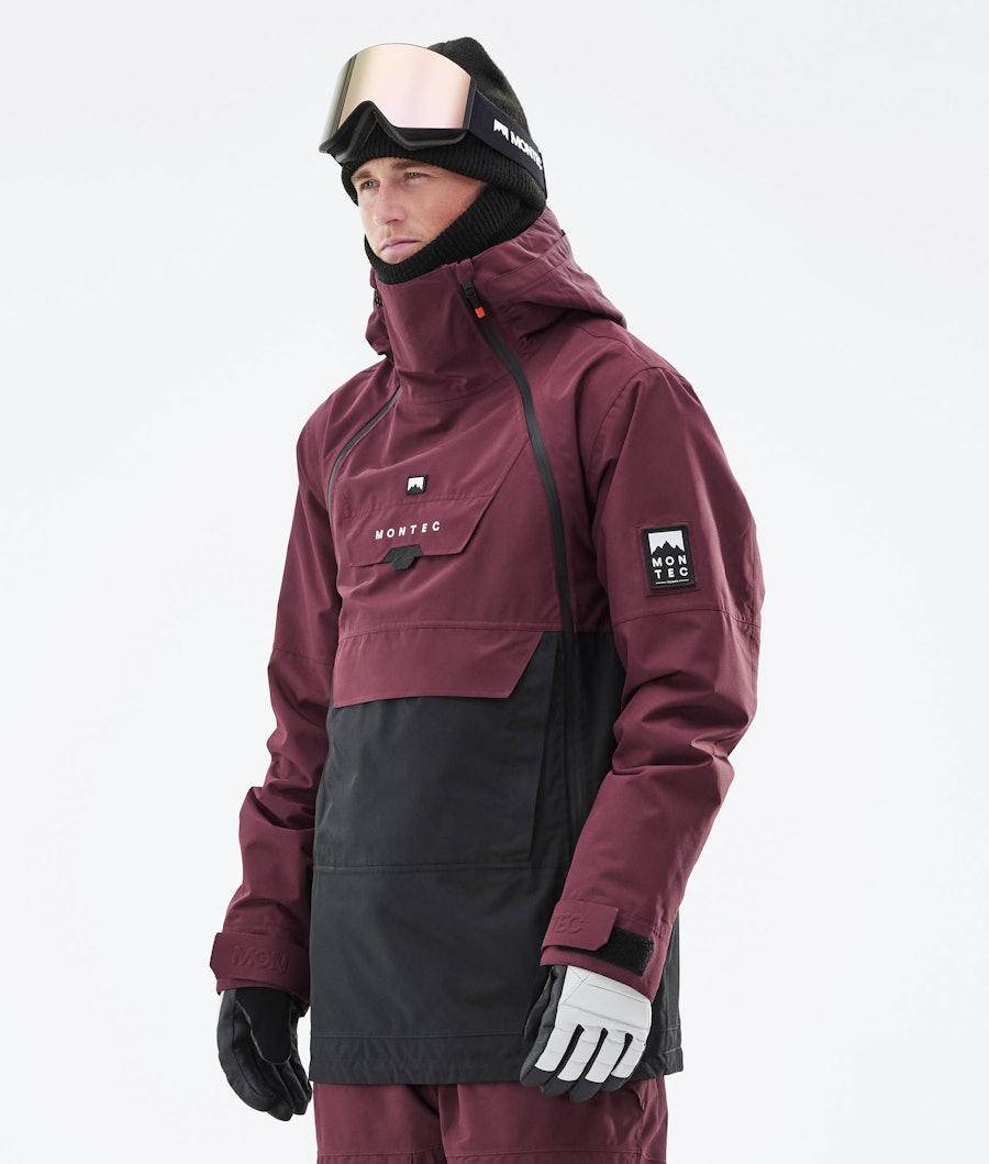 Montec Doom Snowboardjacka Burgundy/Black