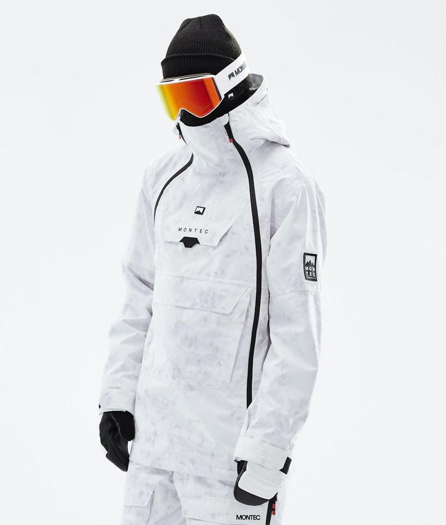 Montec Doom Snowboard Jacket White Tiedye