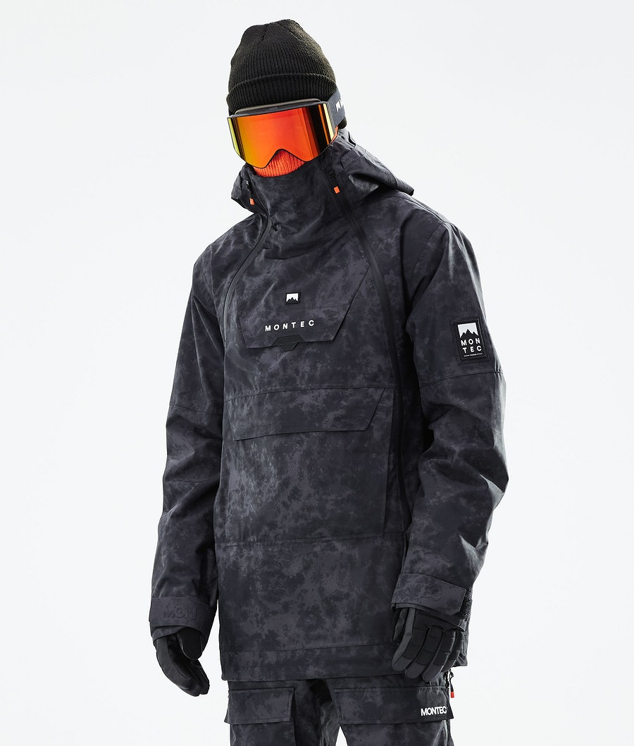 Montec Doom Snowboardjacka Black Tiedye