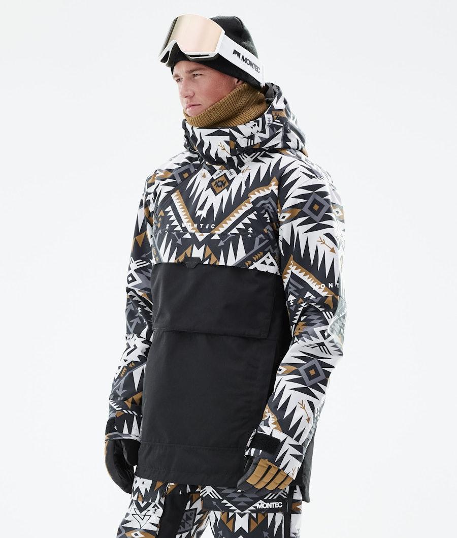 Montec Dune Snowboardjacka Komber Gold/Black