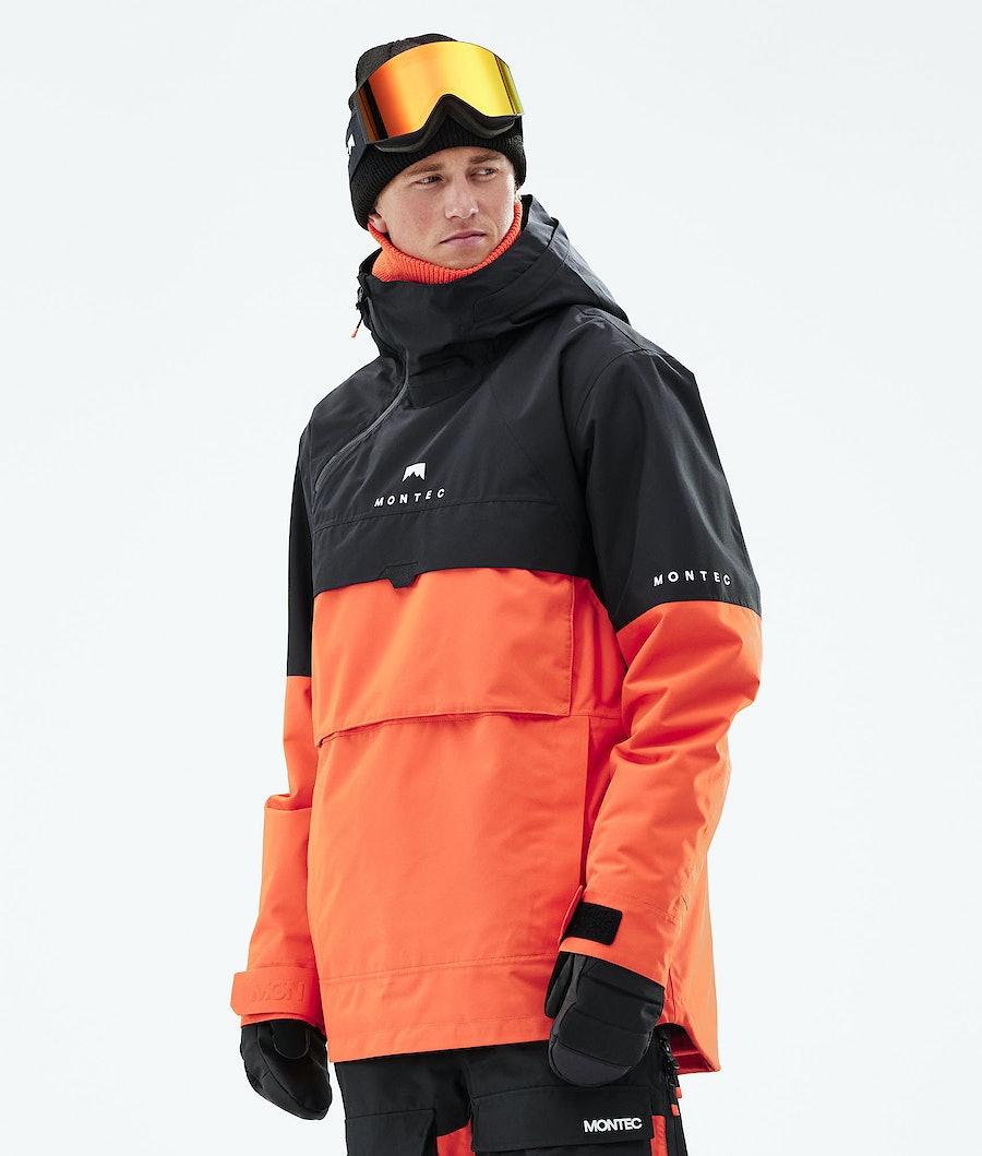 Montec Dune Giacca Sci Black/Orange