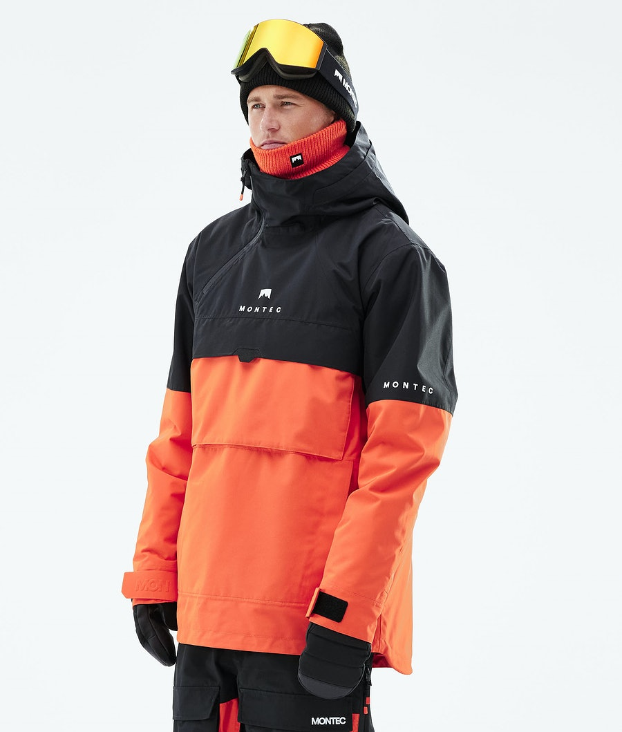 Montec Dune Snowboardjakke Black/Orange