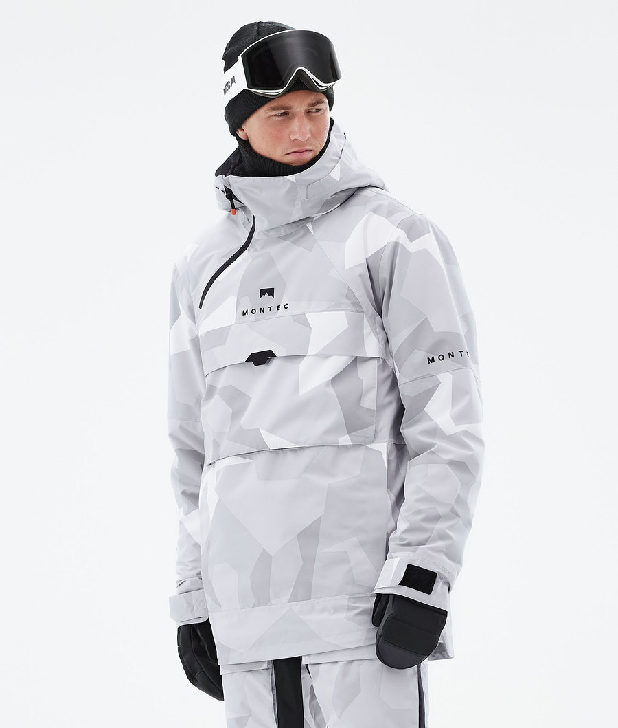 Montec Dune Skijacke Snow Camo