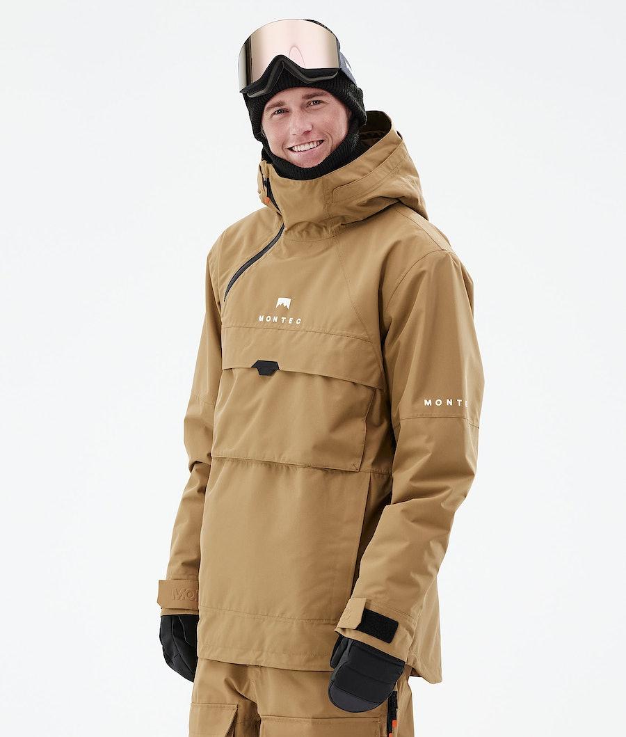 Montec Dune Snowboardjacka Gold