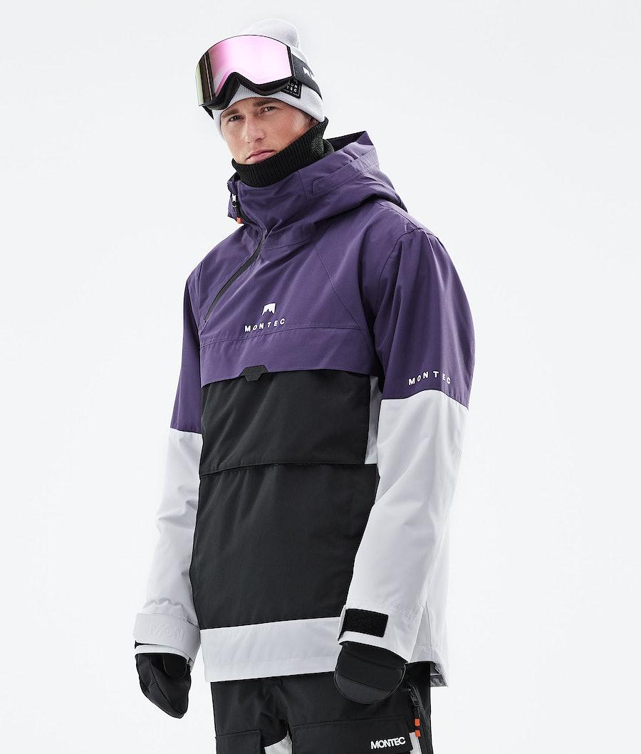 Montec Dune Snowboardjacka Purple/Black/Light Grey