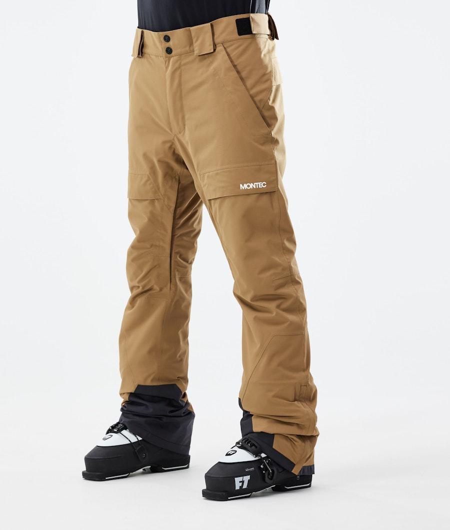 Montec Dune Pantaloni Sci Gold